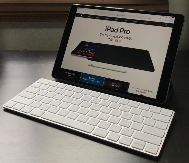Apple-magic-keyboard-us-key-layout-and-ipad-pro-10.5-inch US配列マジックキーボード