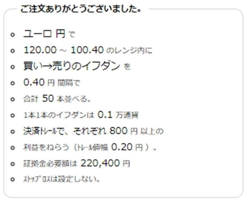 ココの買い空売りトラリピCAD/JPYの注文履歴