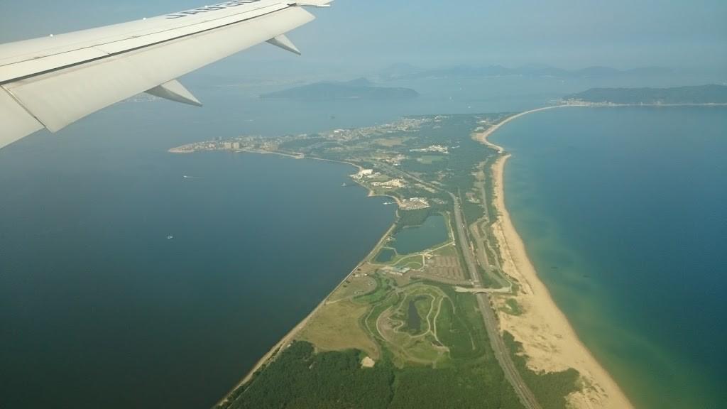 福岡県 志賀島上空の写真2