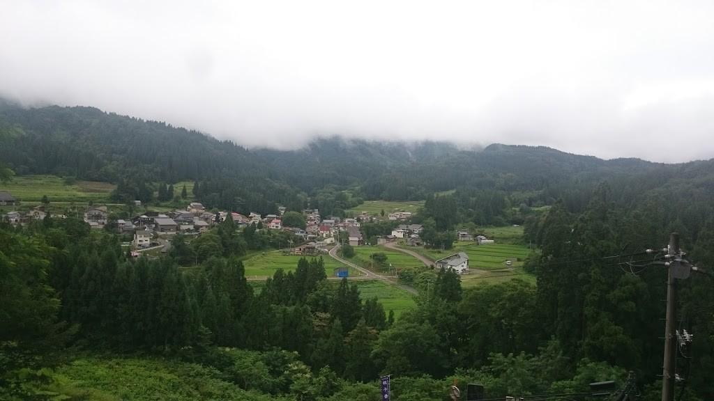 北秋田市根子の景色の写真