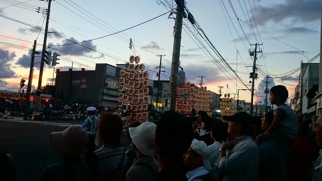 第27回おなごりフェスティバル 秋田竿灯の写真1