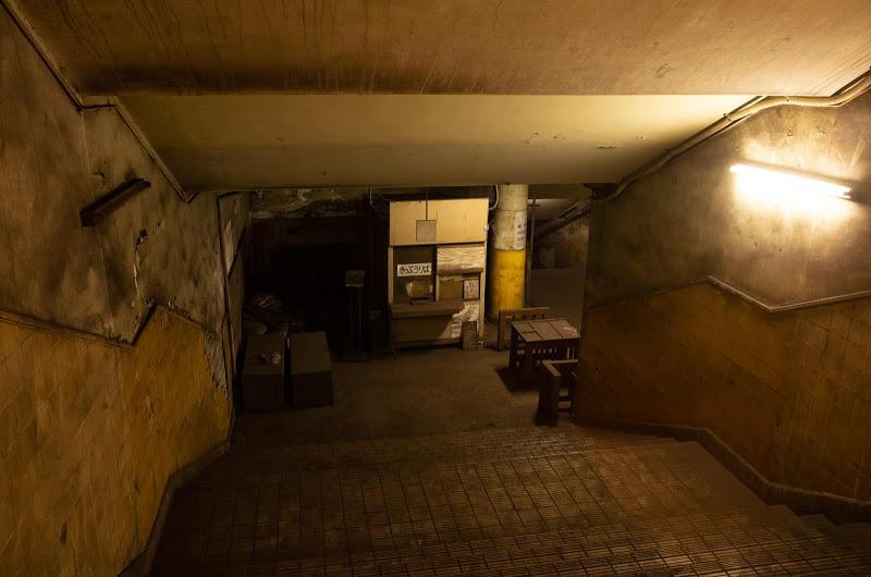 190117 下に見える改札階