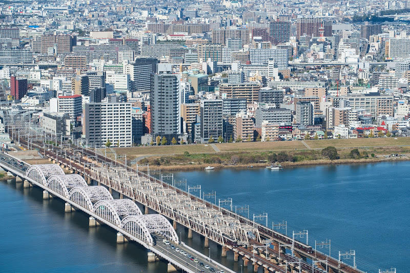 181124 梅田スカイビル阪急俯瞰