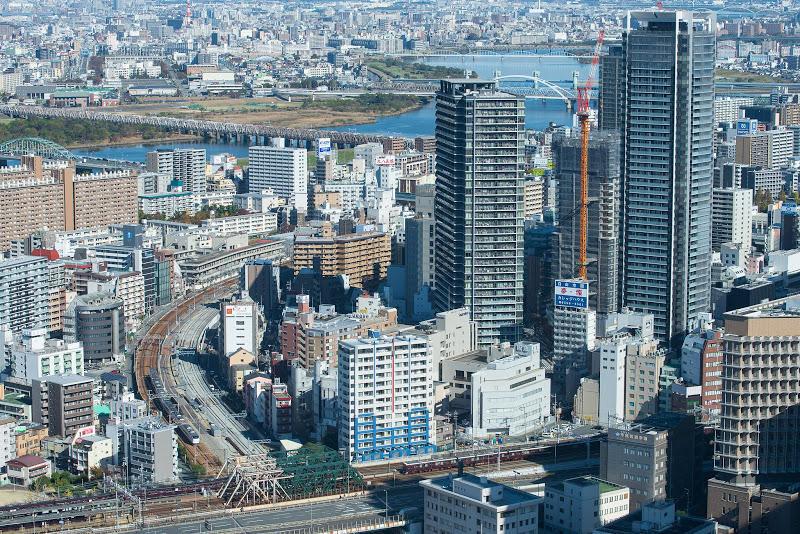 181124 梅田スカイビル東海道支線俯瞰