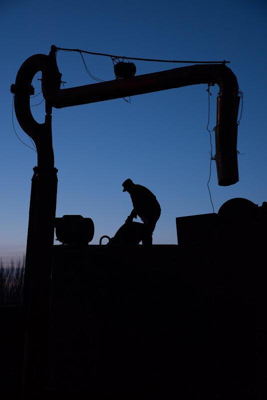 180101 夜明けの給水作業