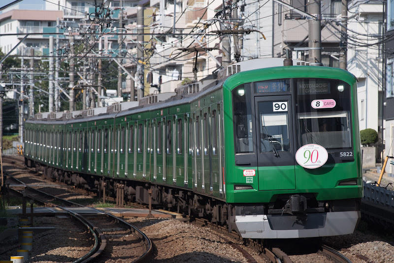 170910 妙蓮寺〜白楽の青ガエル電車