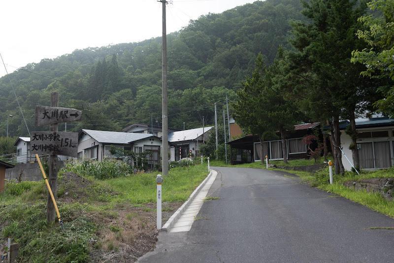170805 旧岩手大川駅への入口