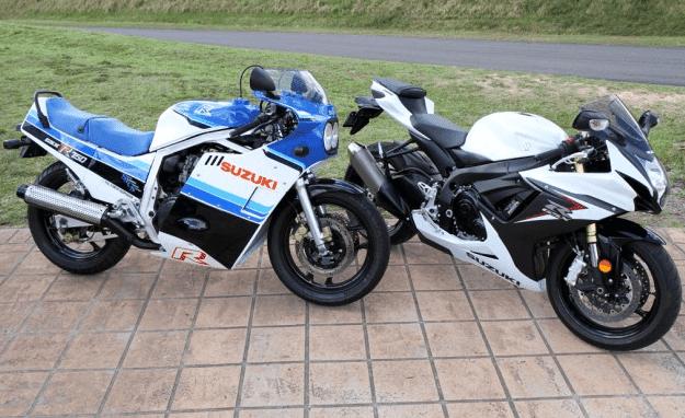 ★新旧のスズキGSX-R750を比較する