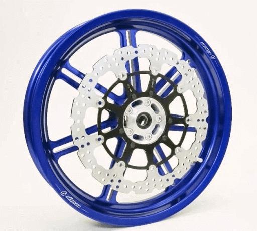 ★Warp 9レーシング モタード用鍛造アルミニウムホイール