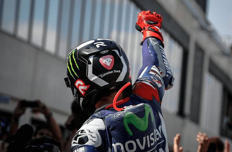 ★MotoGP2015 トップ10ライダーの獲得ポイント推移