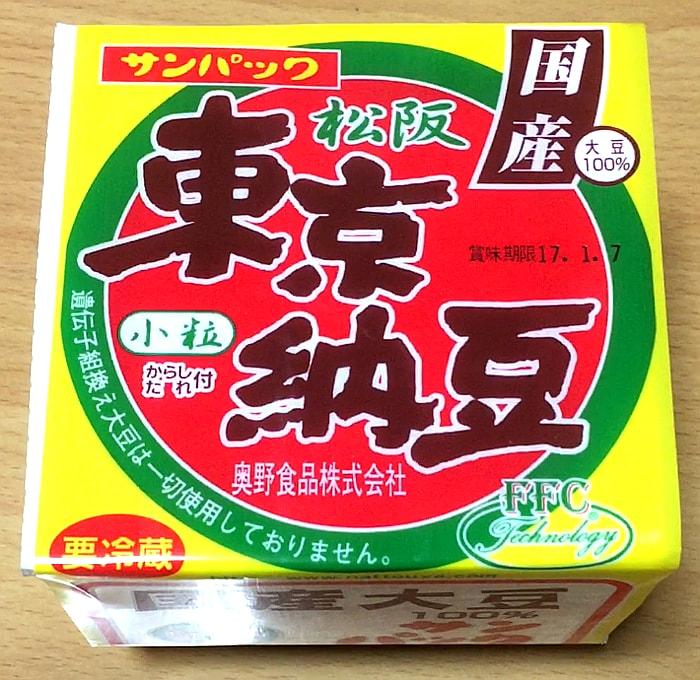 奥野食品「東京納豆」