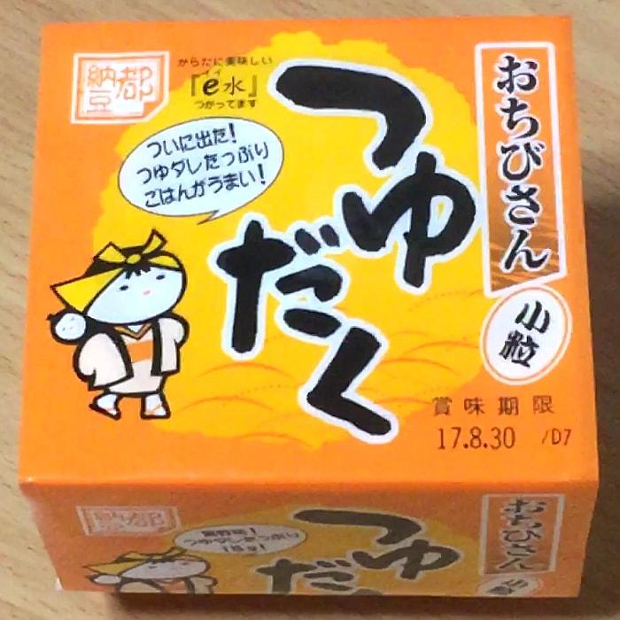 小杉食品「おちびさん つゆだく」