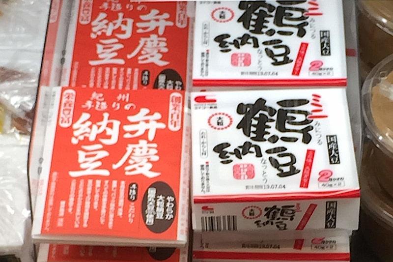 弁慶納豆の隣にあるミニ鶴納豆の画像