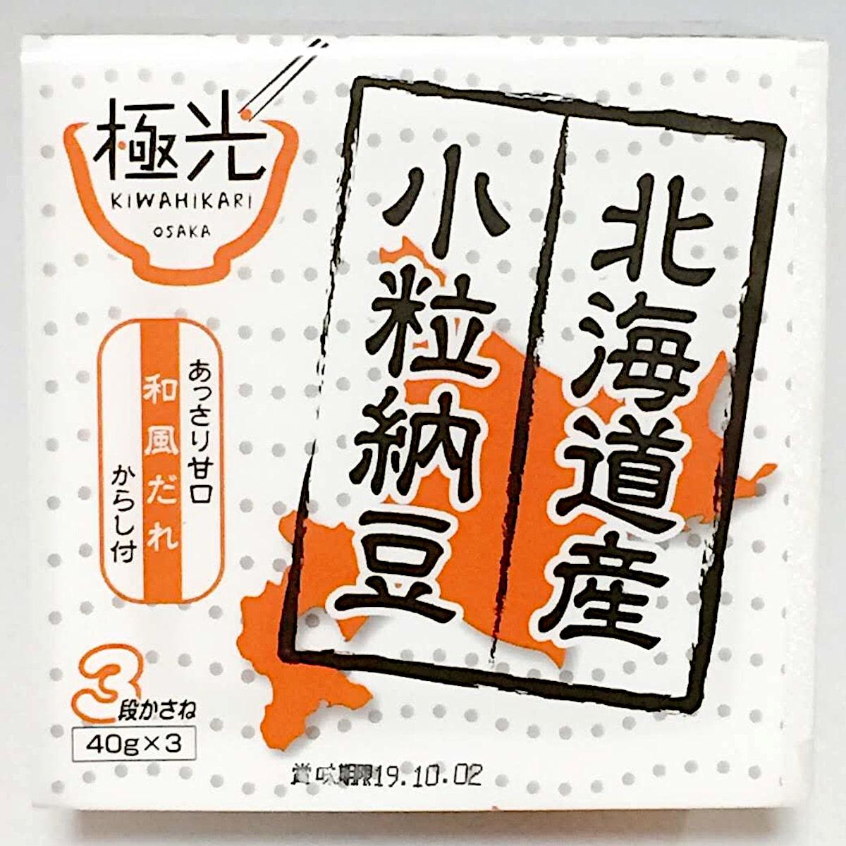 エイコー食品「北海道小粒納豆」