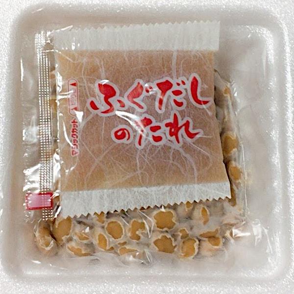「ふぐだし納豆」の容器の中の画像