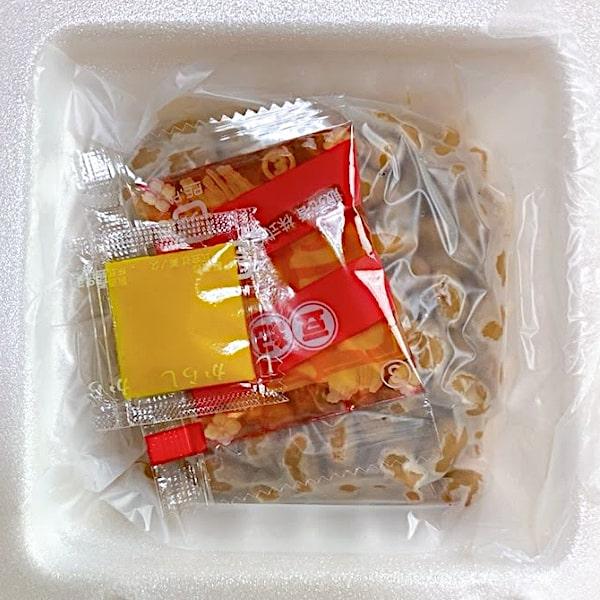 「味わい納豆」のフタを開けた画像