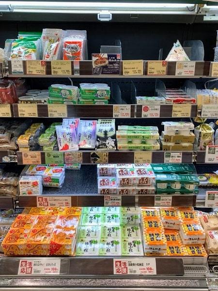 パントリー住道駅店の納豆棚の画像