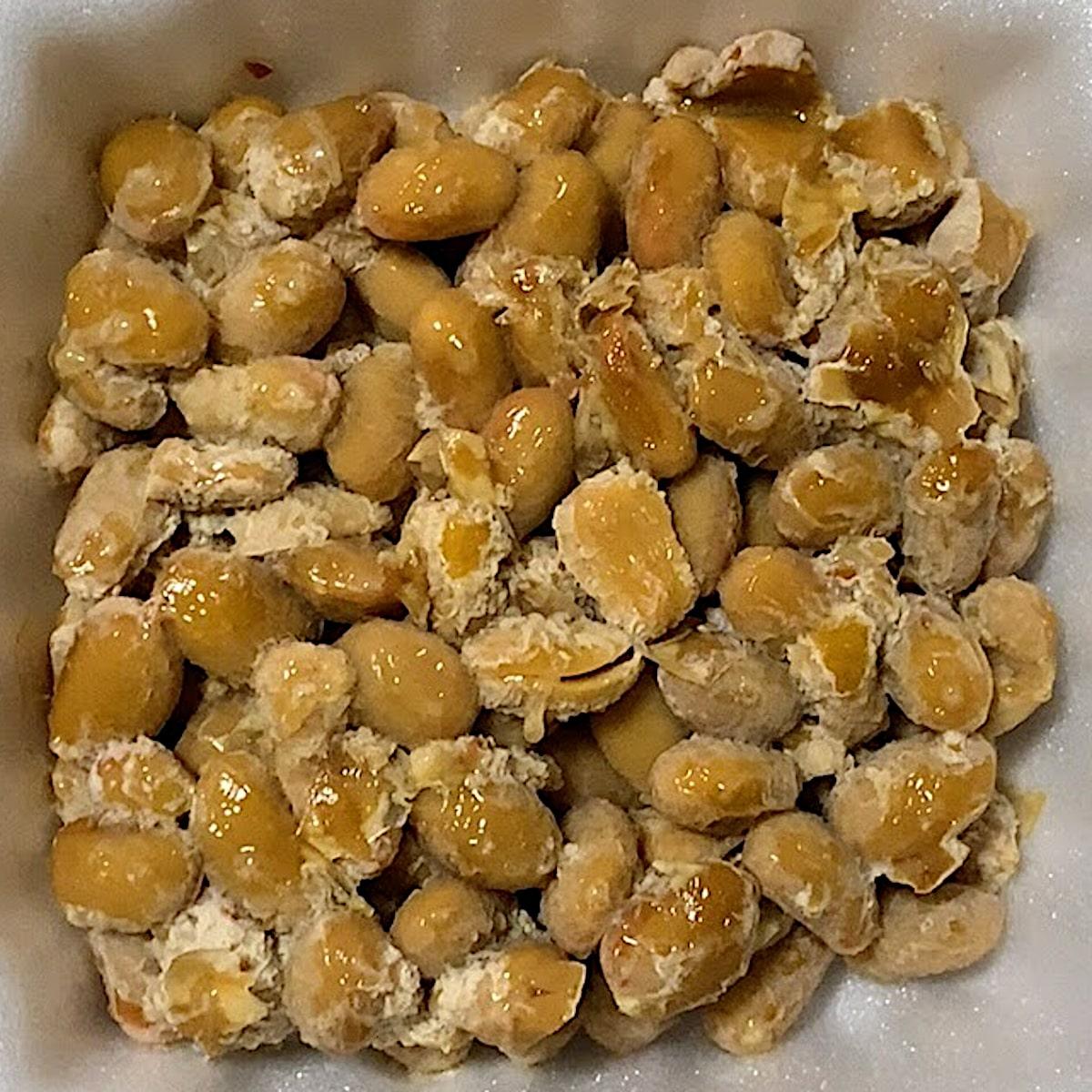 「金のつぶ 金の熟成」の納豆の画像