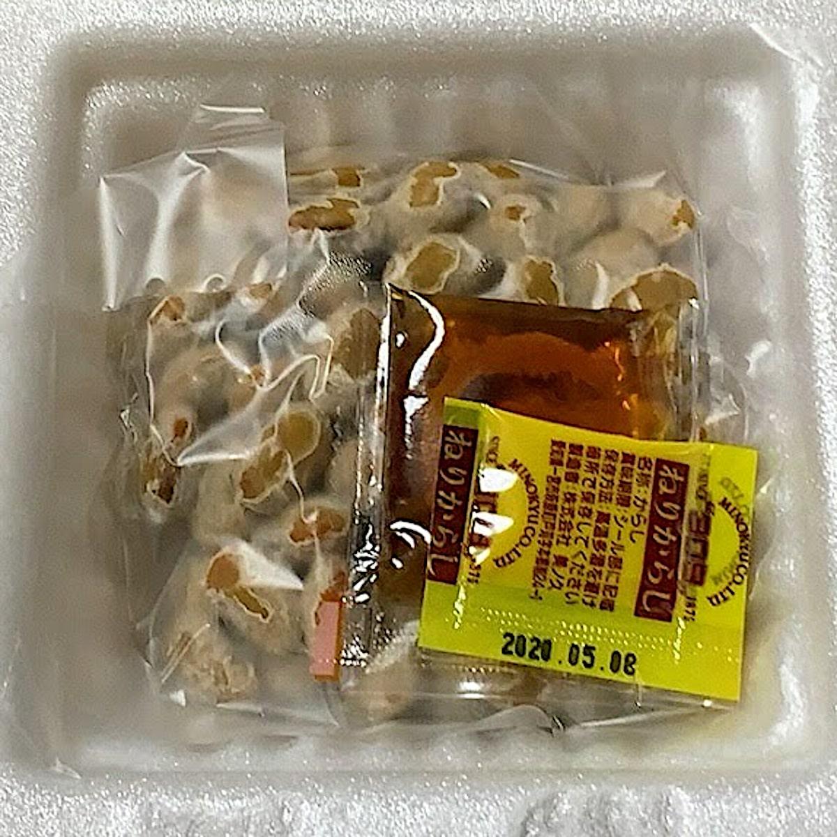 「うまか納豆九州もん」の容器の中の画像