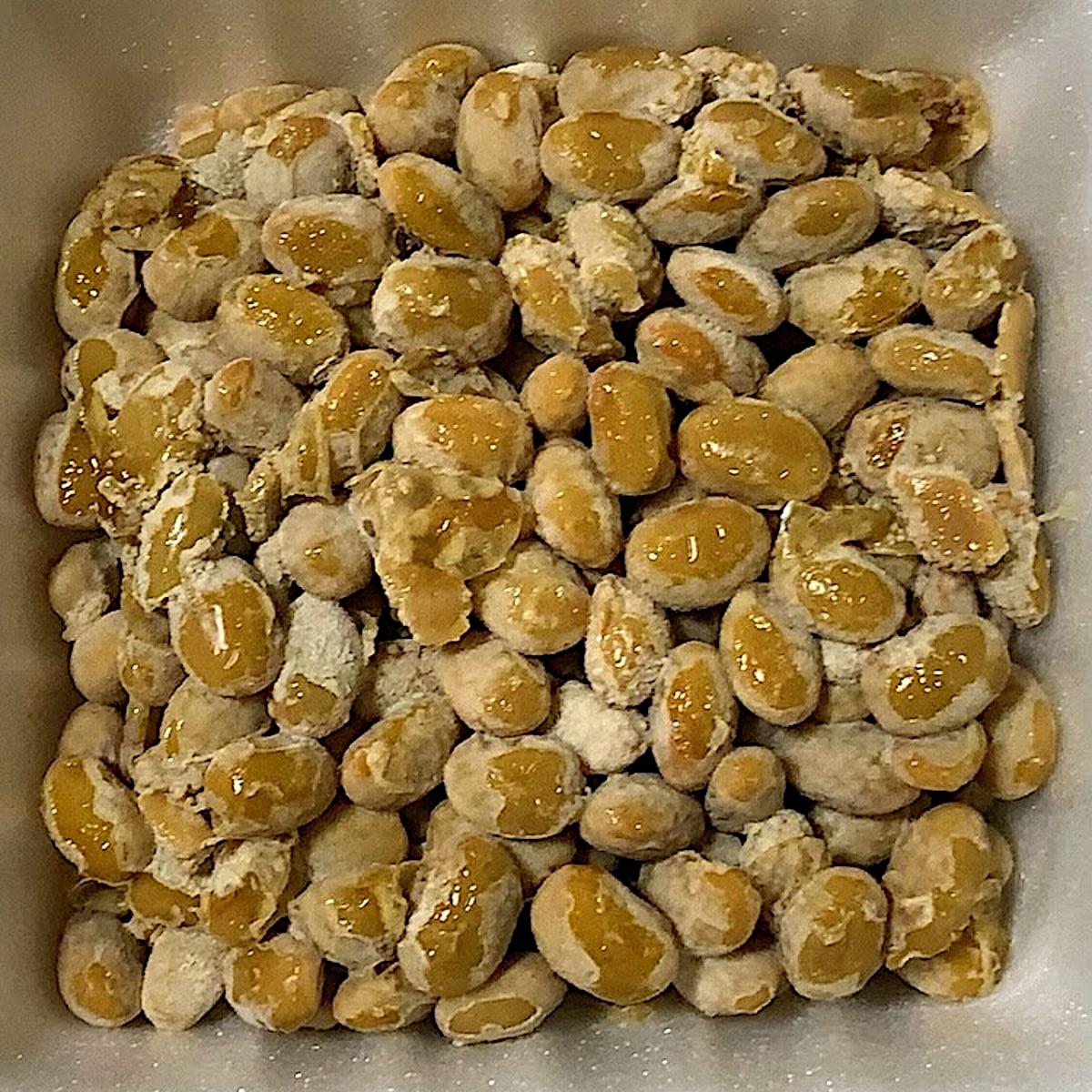 「焼きあごだれ納豆」の納豆の画像
