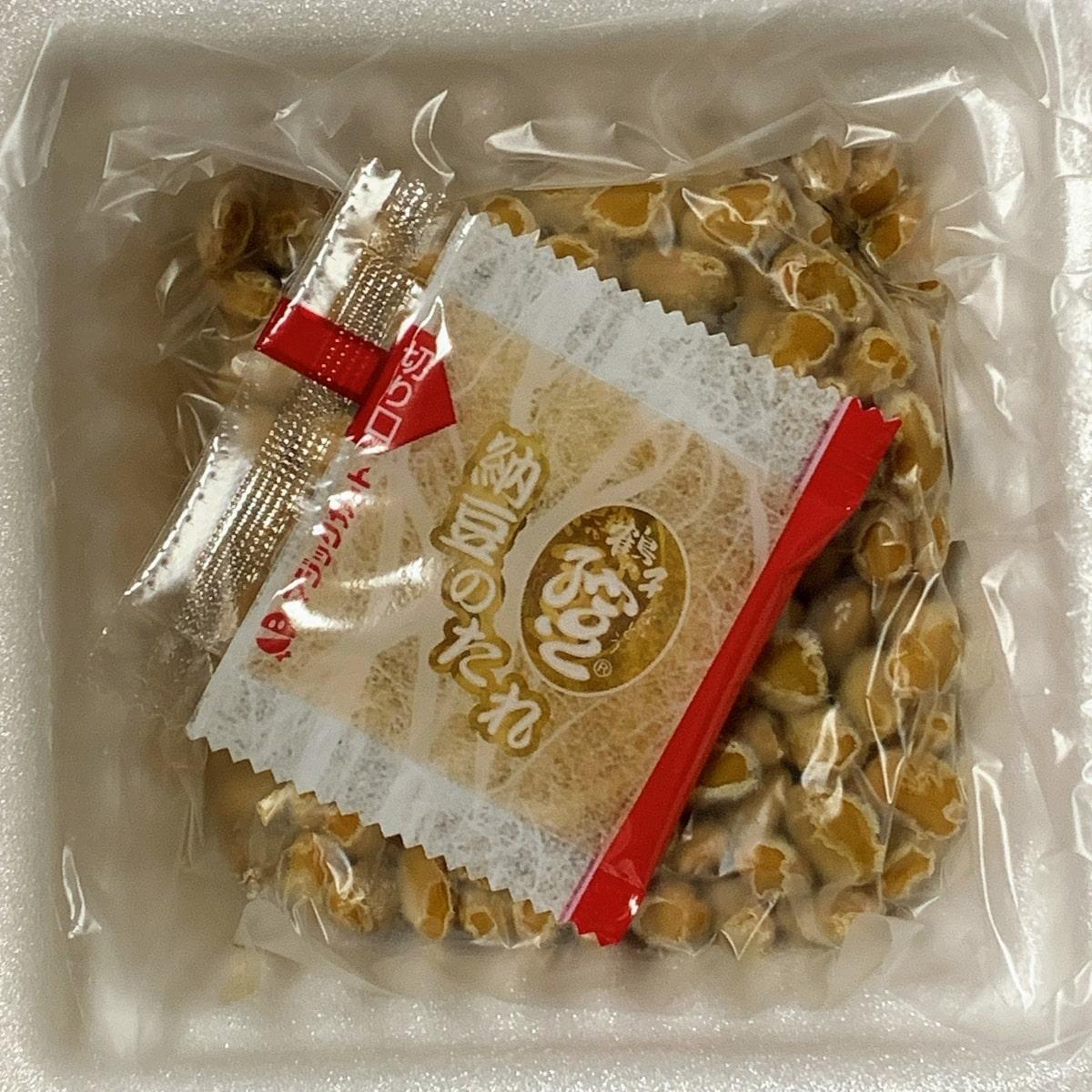 「京の白だし納豆」の中身の画像