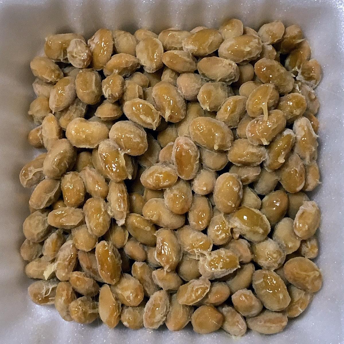 「京の白だし納豆」の納豆の画像