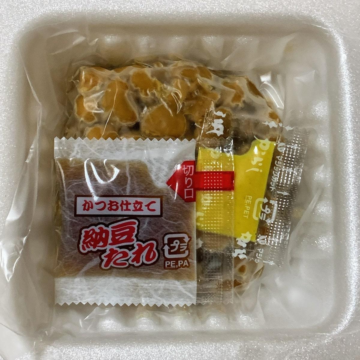 「豆力」の容器の中の画像