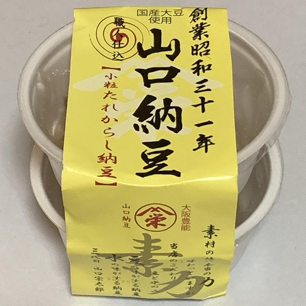 山口食品「たれからし納豆」