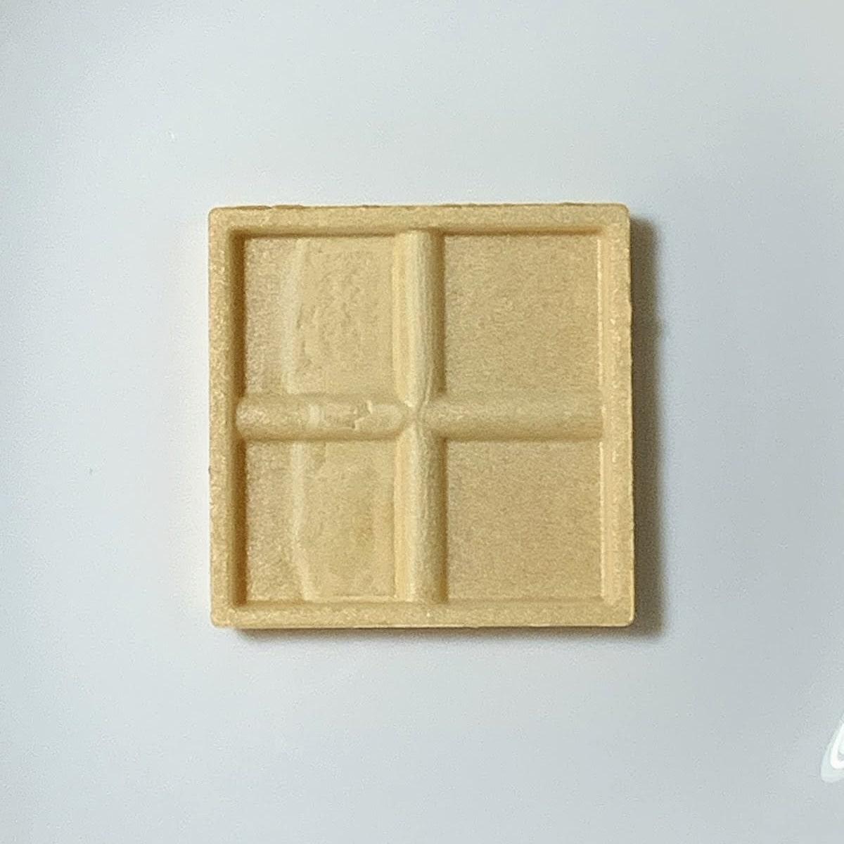 「もなか納豆」の最中の皮の画像