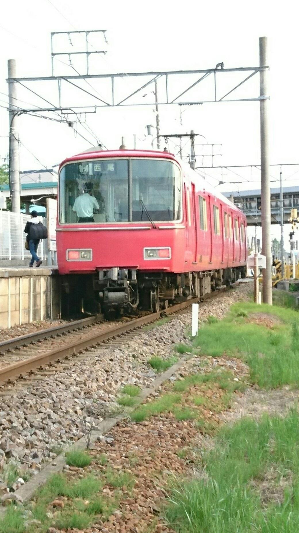 2017.5.14 えきそうじ (2) 古井 - 西尾いきふつう 1040-1850