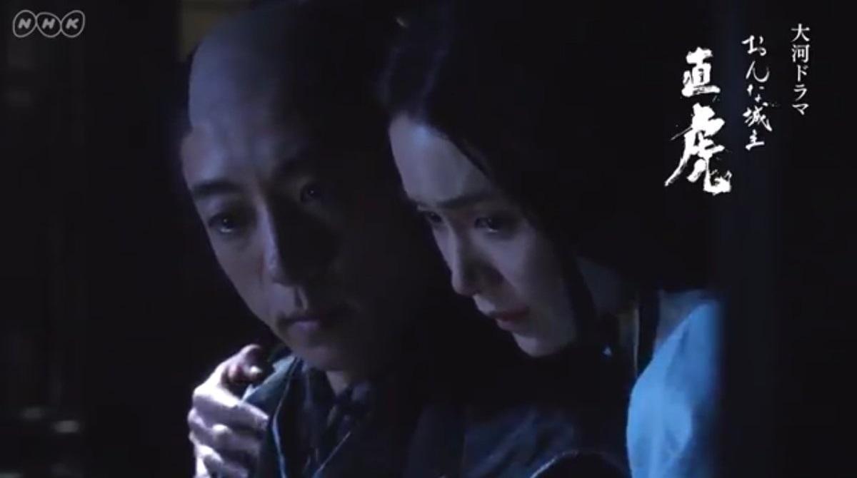 直虎でなつ役を演じる山口紗弥加さん 1200-670