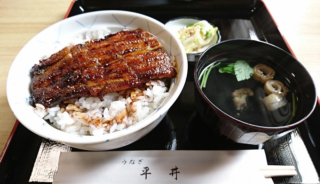 2017.7.21 西尾 (5) うなぎの平井さん - うなどん 1250-720