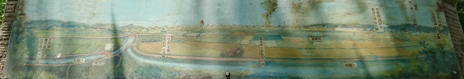 「東条城の落日」 - 合戦図 1610-275
