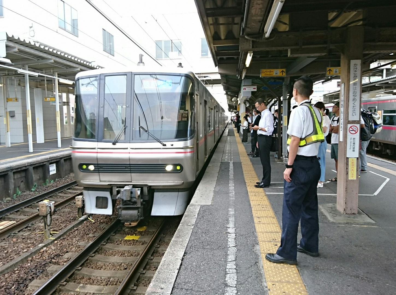 2017.7.31 始発 (4) しんあんじょう - 岐阜いき特急 1450-1080