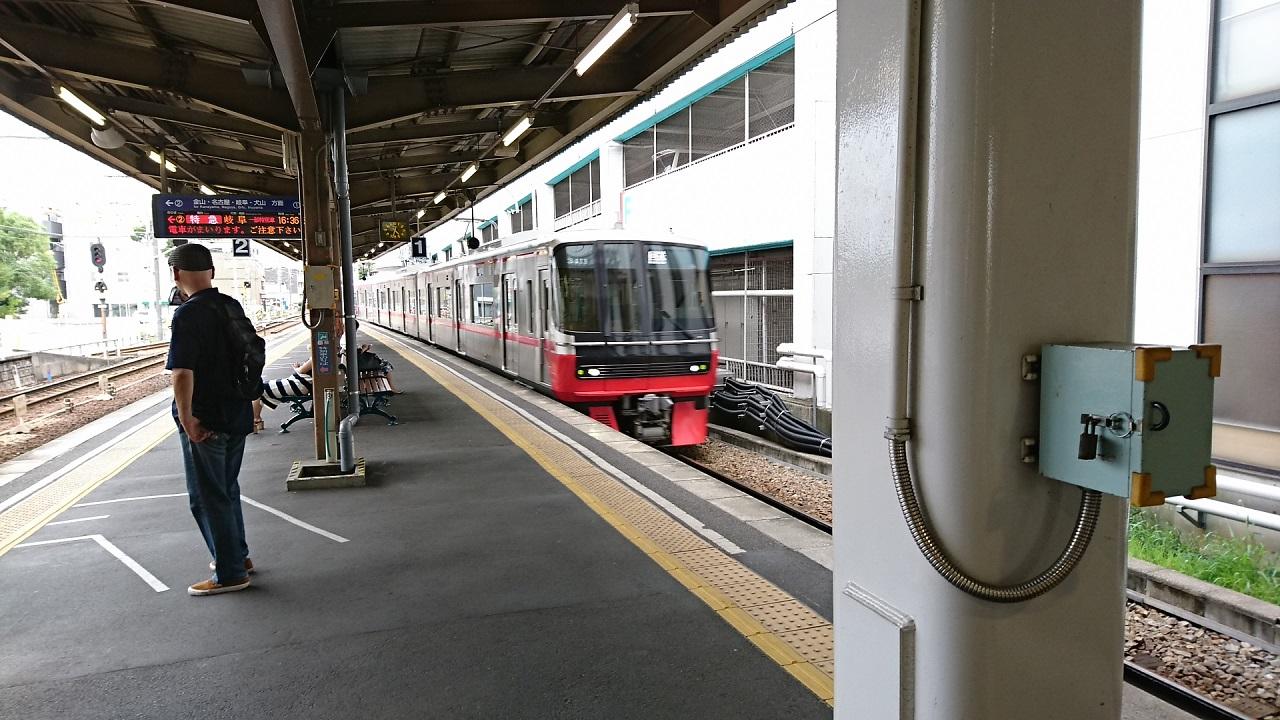 2017.8.14 東岡崎 (18) あがり回送電車 1280-720