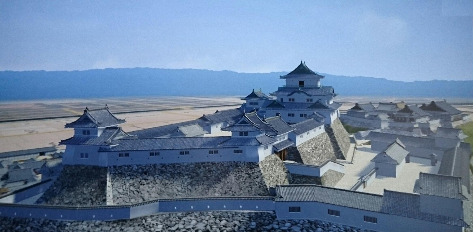 2017.8.17 わかやま (19) CG和歌山城 (3) 2000-980