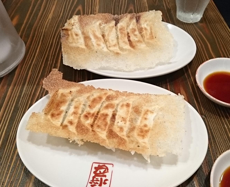 2017.8.17 わかやま (42) 麺屋ひしお - ぎょうざ 1330-1080