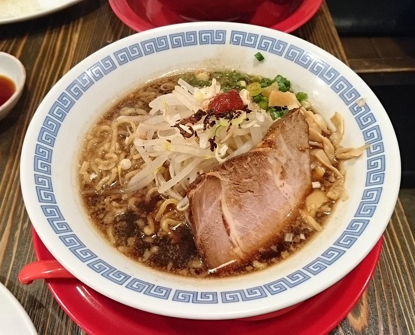 2017.8.17 わかやま (44) 麺屋ひしお - しょうゆラーメン 1340-1080