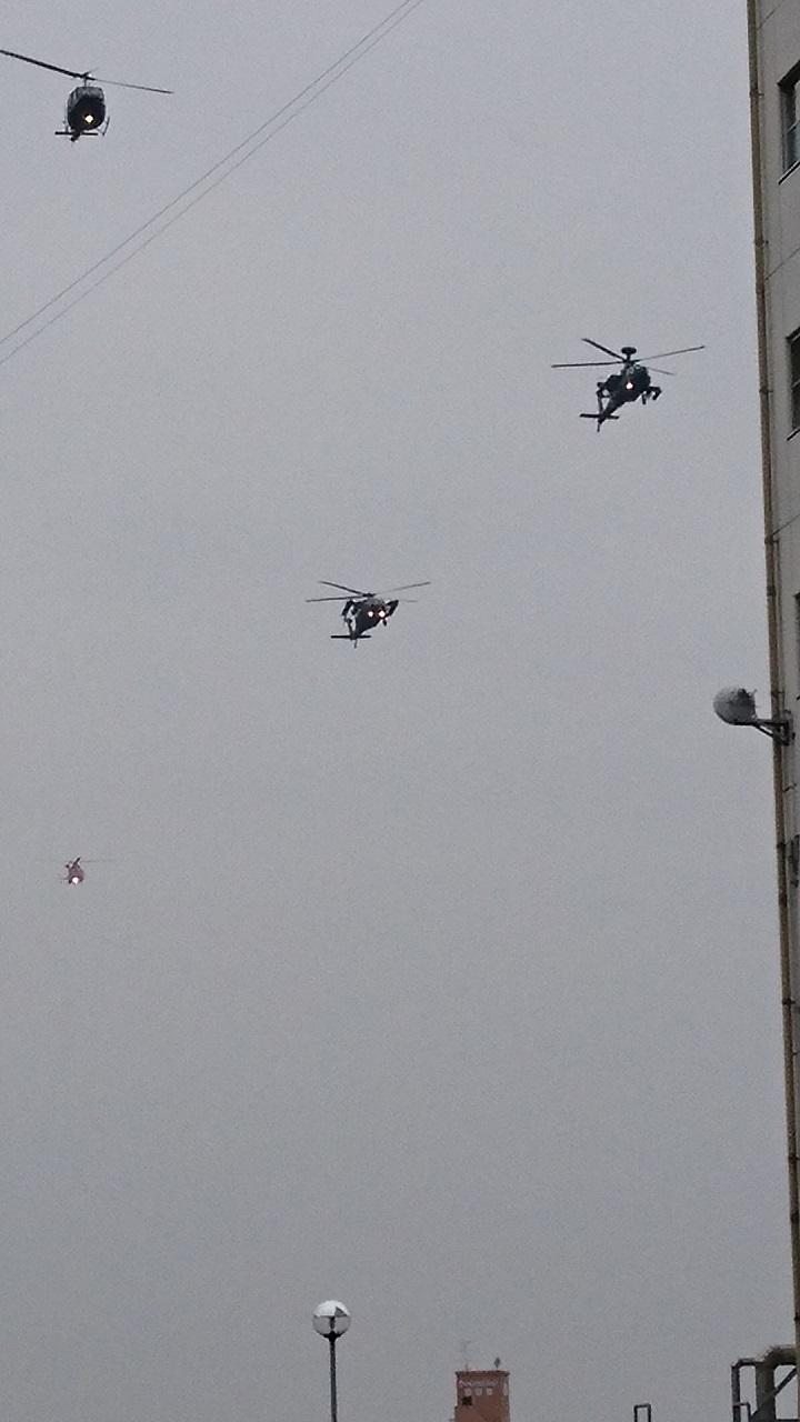 2017.10.28 守山駐屯地 (18) ヘリコプター 720-1280