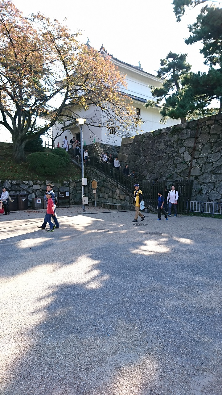 2017.11.3 名古屋城 (4) 東南すみやぐら(きたから) 720-1280