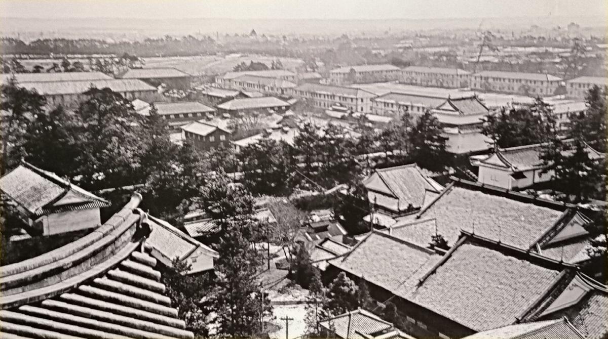 2017.11.3 名古屋城 (資1) 「天守からみた二の丸」 1200-670
