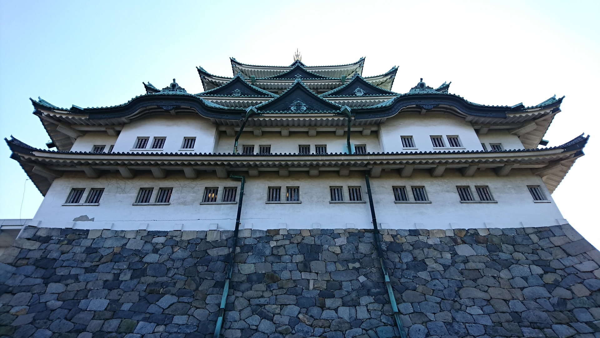 2017.11.3 名古屋城 (13) 天守閣(きたから) 1920-1080