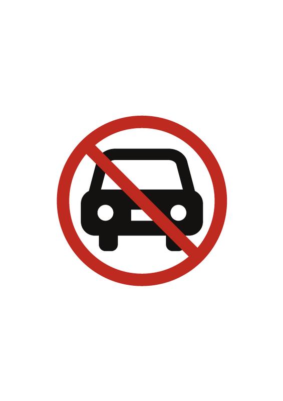 駐車禁止 文字なし