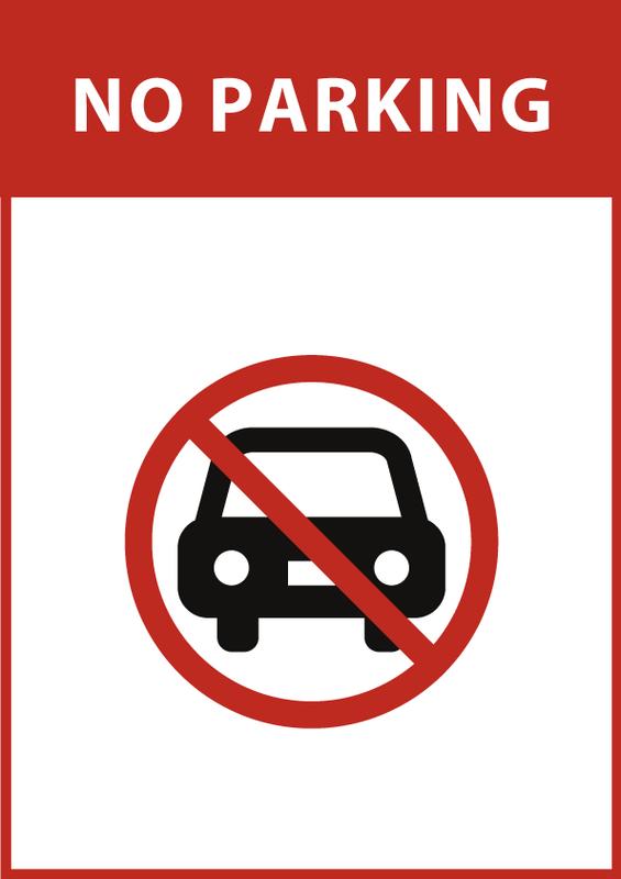 駐車禁止 英語