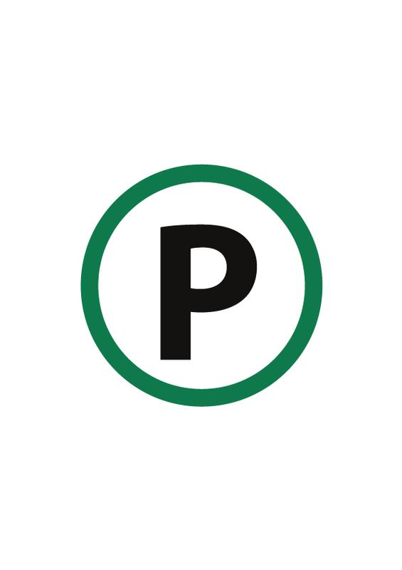 駐車場 文字なし