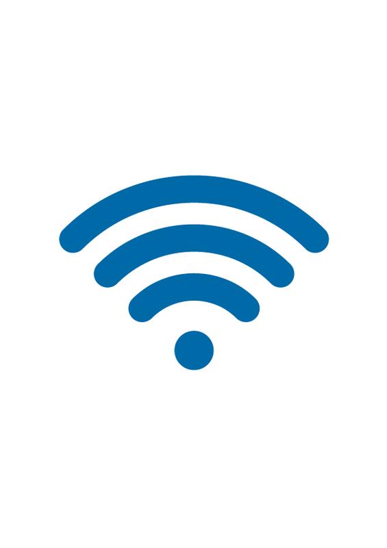 Free WiFi 文字なし
